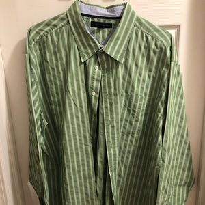 Tommy Hilfiger Button Up Shirt - XXL - Striped